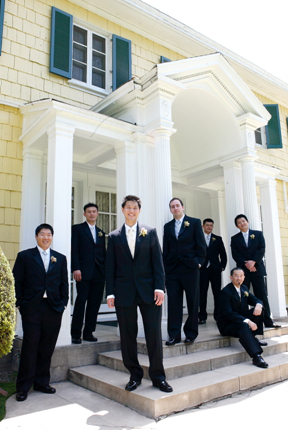 black, Groomsmen, Portraits, Groom, Wedding, Group, House, Scott, Lindley-scott house, Lindley