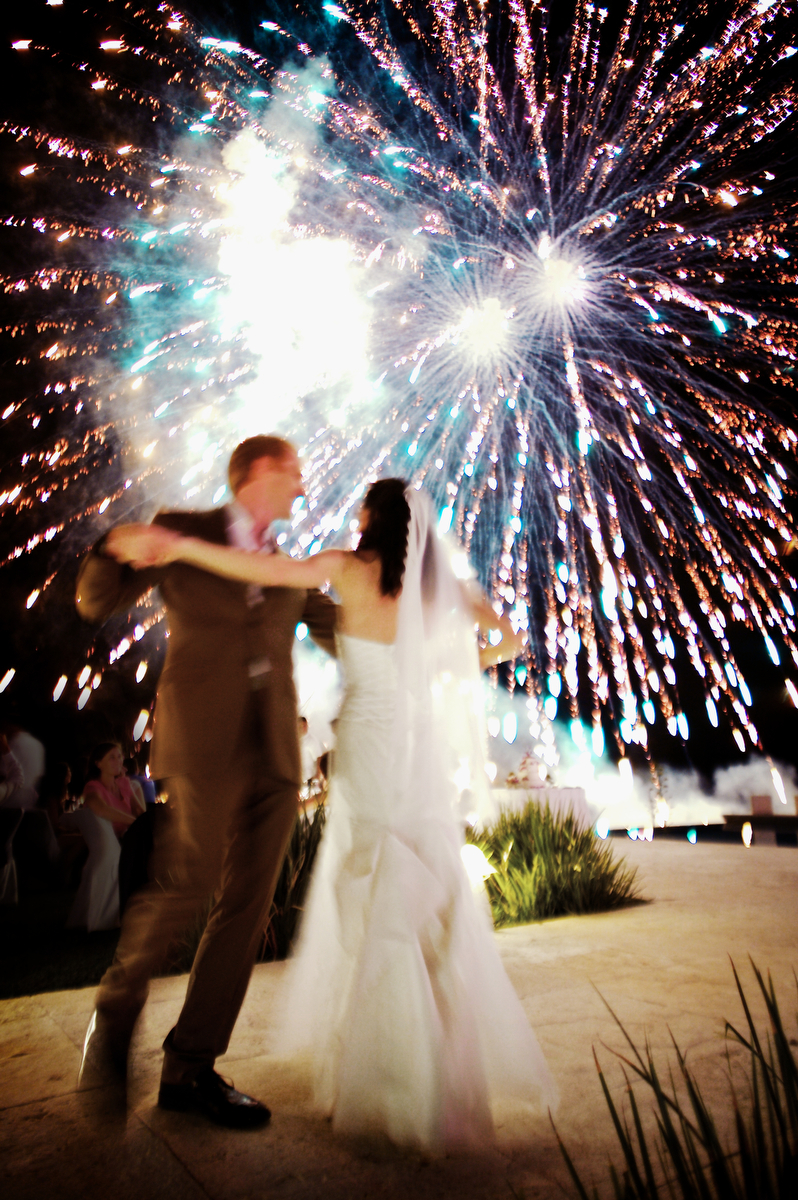 Reception, Flowers & Decor, Bride, Groom, Dance, Wedding, Fireworks, Bob davis