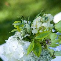 Ceremony, Flowers & Decor, Ceremony Flowers, Garden, Flowers, Garden Wedding Flowers & Decor, Chair