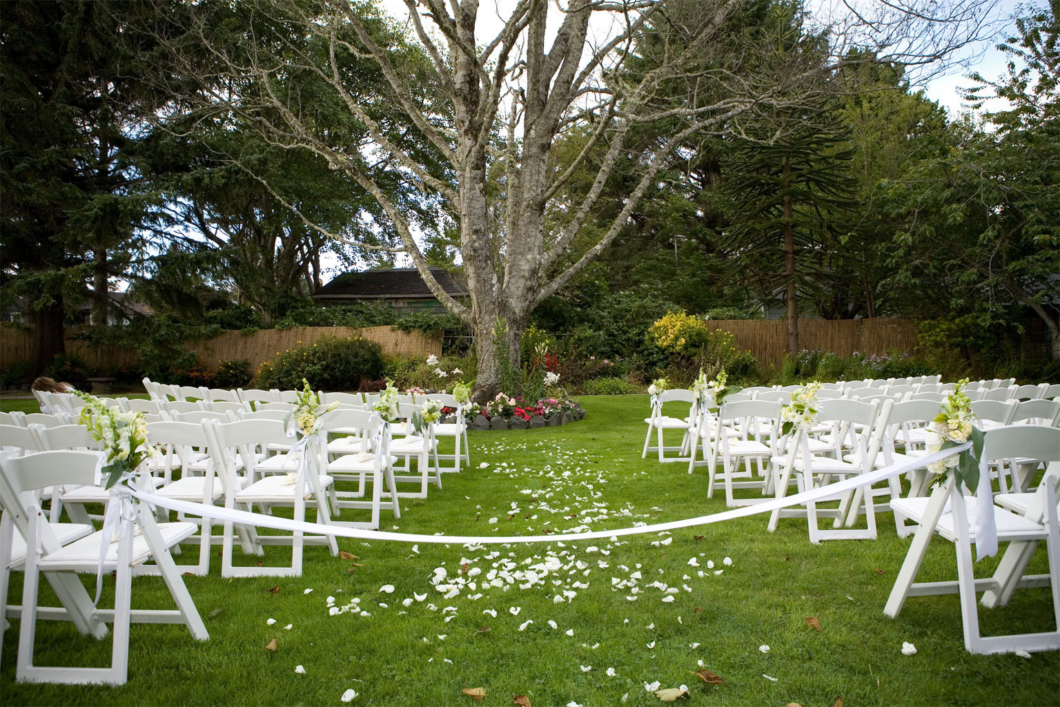Ceremony, Flowers & Decor, Garden