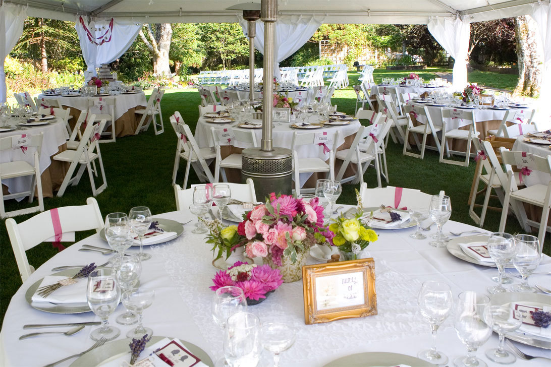Reception, Flowers & Decor, Vintage, Garden, Tent