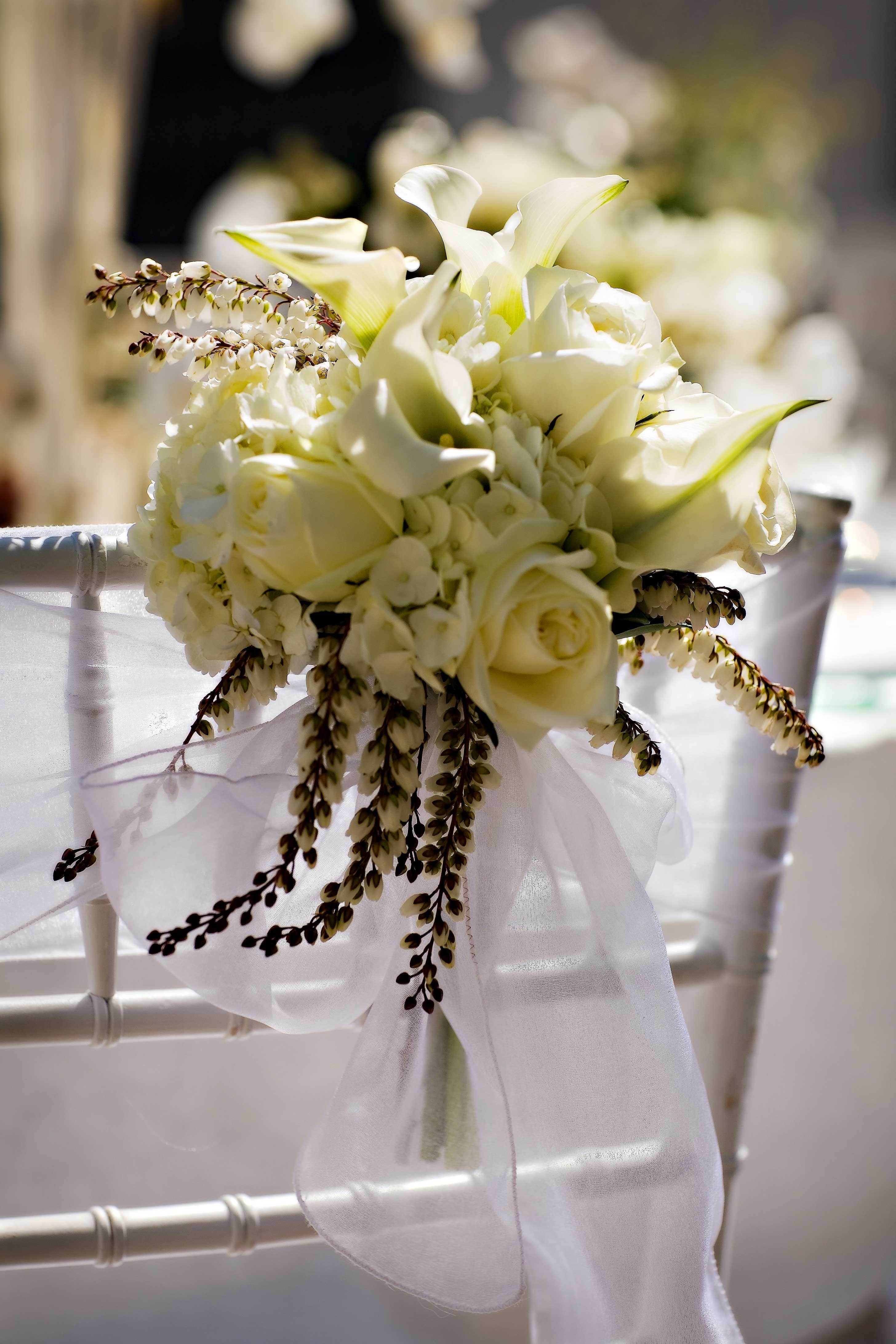 Reception, Flowers & Decor, Flowers, Chair