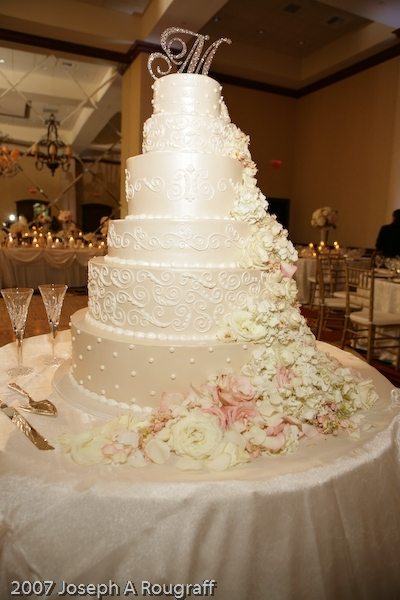 Cakes, With, Bakery, Toppers, Frosted, Art, Weddings of elegance, Glitz