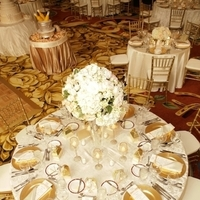 Reception, Flowers & Decor, gold, Centerpieces, Centerpiece, Tall, Chargers, Dallas, Gaylord, Weddings of elegance, Texan