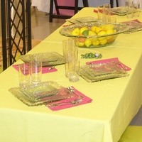 Registry, Square, Place Settings, Lemon, Glass, Linen, Plates, Serving, Bowls