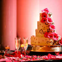Cakes, pink, cake, Weddings of elegance