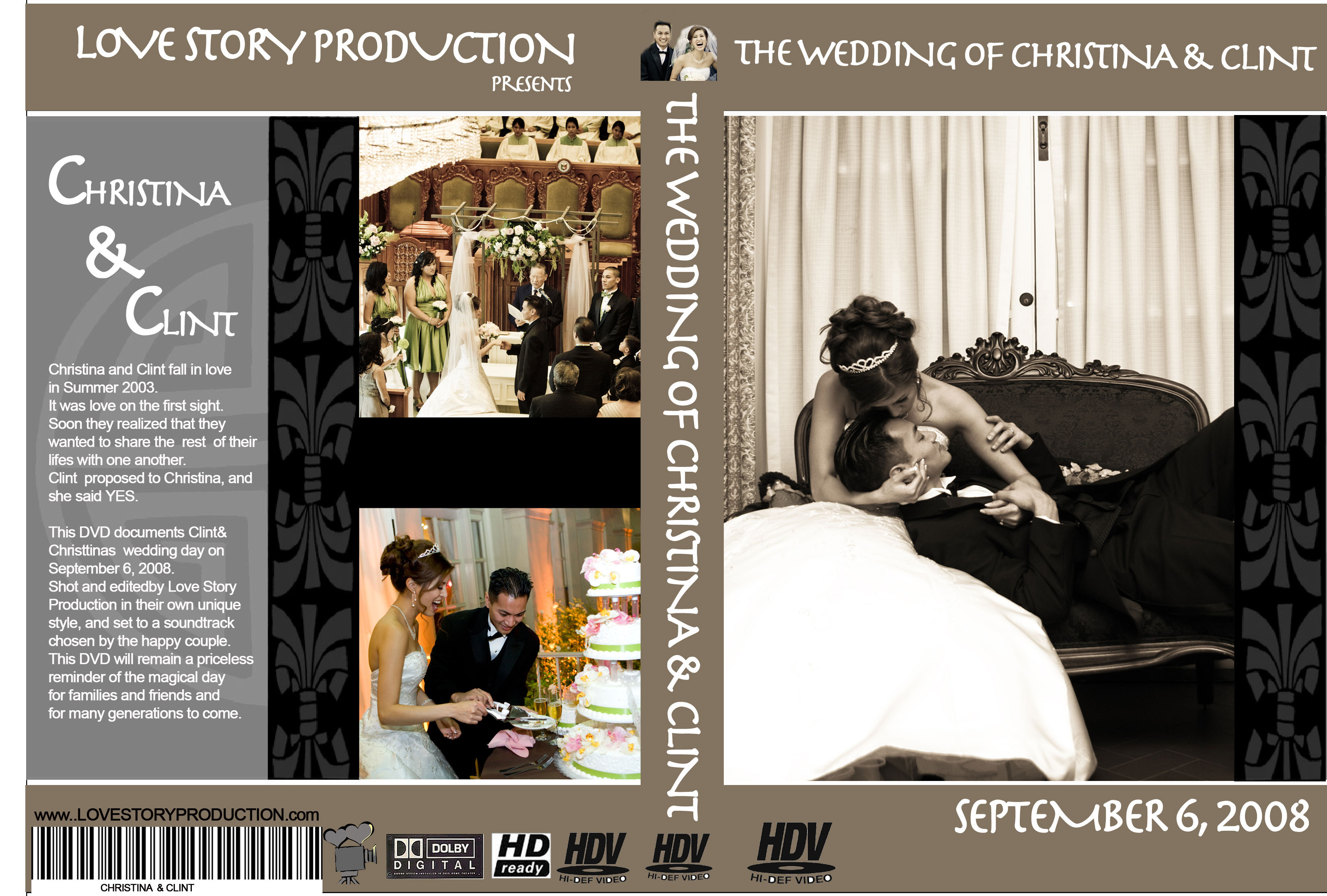 And, Chinese, Cover, A, Style, Or, Dvd, Poster, Love story production, Lovestoryproduction