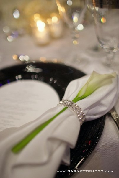 Reception, Flowers & Decor, white, black, And
