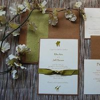 Destinations, green, Eco-Friendly, Wedding, Destination, Sage, Tan, Natural, Africa, Khaki, Olive, African, Safari, Paper olive • letterpress custom invitations, Invitationspaper, Invitationscustom, Invitationscouture