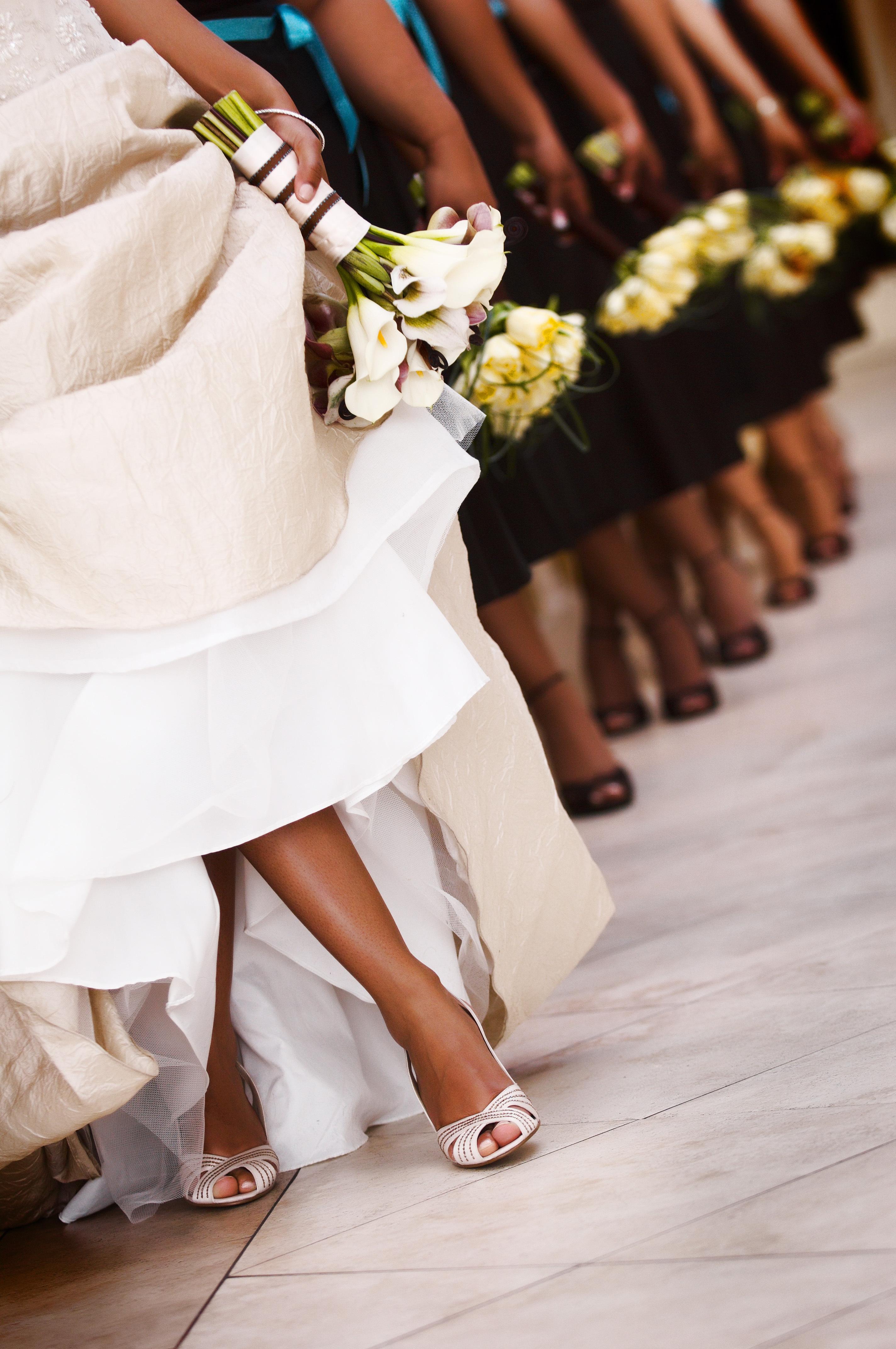 Flowers & Decor, Bridesmaids, Bridesmaids Dresses, Fashion, yellow, Bridesmaid Bouquets, Flowers, Wedding, Celebrations event planning design, Flower Wedding Dresses