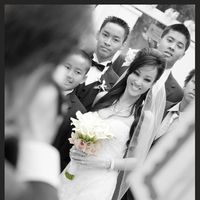 Flowers & Decor, white, black, Bride Bouquets, Bride, Flowers, And, B, W, Shaun bayliss photography