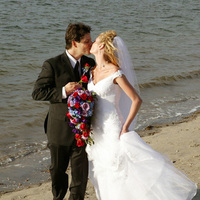 Flowers & Decor, Beach, Bride Bouquets, Bride, Flowers, Beach Wedding Flowers & Decor, Groom, On, Events to envy