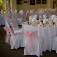 Ceremony, Reception, Flowers & Decor, Decor, Ceremony Flowers, Centerpieces, Tables & Seating, Flowers, Centerpiece, Wedding, Site, Chair, Chairs, Satin, Linen, Decorations, Covers, Sashes, Organza, Just chair covers, Chaircovers, Just