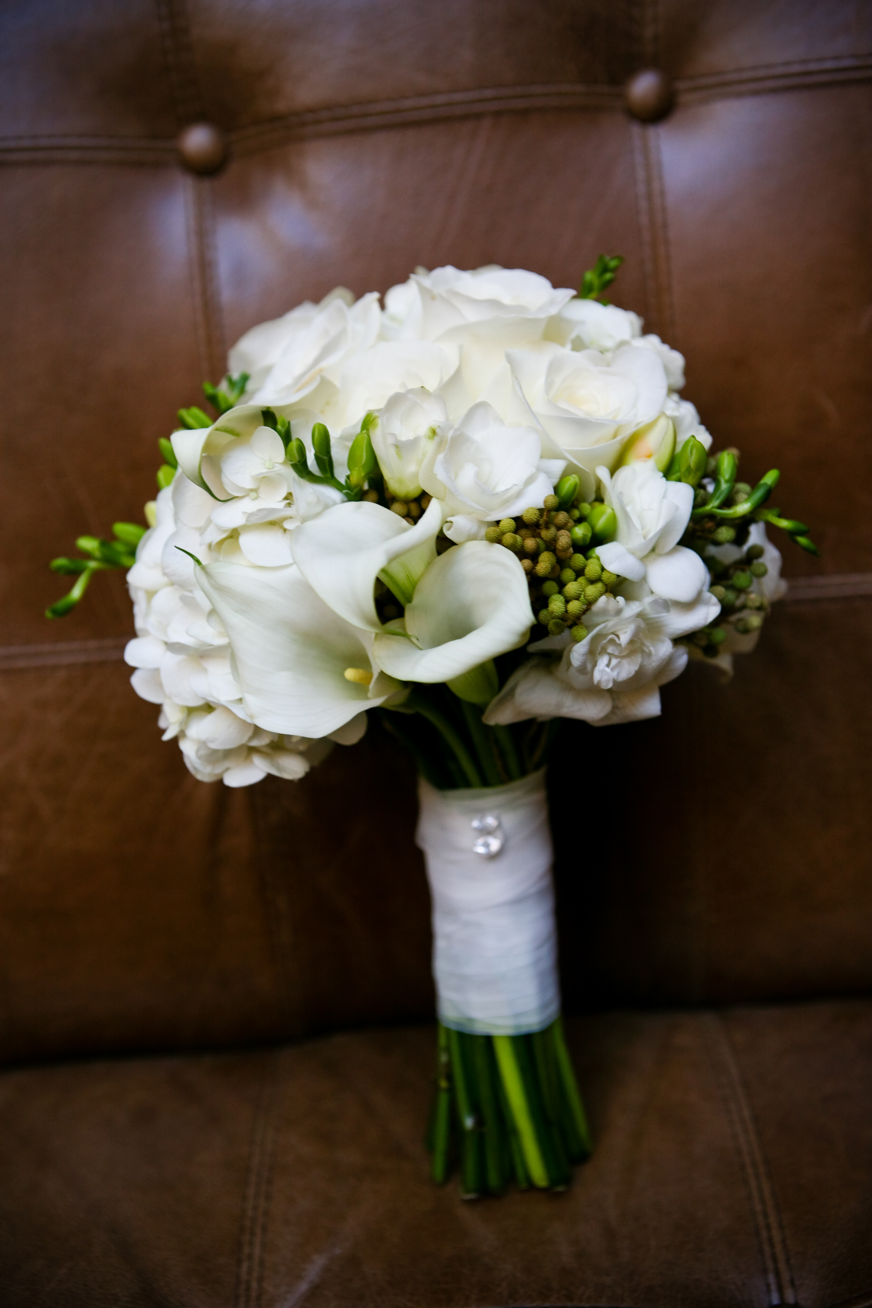 Bouquets Flowers Roses Bouquet Calla Bridal Hand Lily Freesia