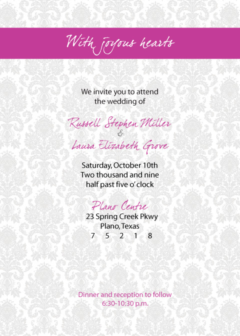Stationery, invitation, Modern, Modern Wedding Invitations, Invitations, Colorful, Invite, Damask, Elgie designs