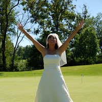 Wedding Dresses, Fashion, green, dress, Bride, Outdoor, Golf, Kevin lush photography