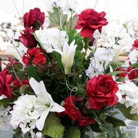 Flowers & Decor, white, burgundy, Flower, Centerpiece, inc, Weddings by stephanie