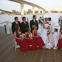 burgundy, inc, Weddings by stephanie