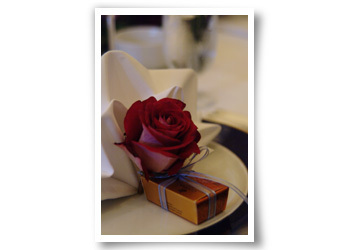 Favors & Gifts, favor, Wedding, Place, Setting, Chocolates, Premiere eventworks, Godiva
