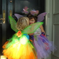Flowers & Decor, Flowers, Flower, Girl, Custom, Ribbon, Tulle, Tutu, Costume, Wings, Chamberrycherrydesigns