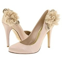 Shoes, Fashion, Wedding, Bridal, Rosette, Pump, Zappos