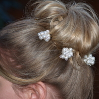 Beauty, Hairpin, Hair, Hairpins, Crystals, Pin, Three brides designs, Pealrs