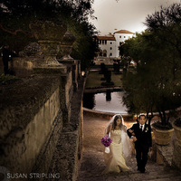 Ceremony, Flowers & Decor, Destinations, North America, Portrait, Bride and groom, Florida, Miami, Susan stripling photography, Vizcaya
