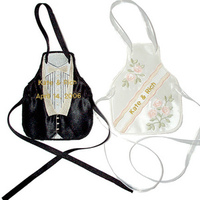 Fashion, ivory, Men's Formal Wear, Custom, Champagne, Tuxedo, Wedding gown, Personalized, Embroidered, Initial impressions, Bottle apron