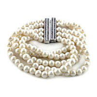 Jewelry, Bracelets, Bracelet, Pearl, Wedding baubles inc