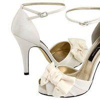 Flowers & Decor, Shoes, Fashion, white, ivory, Flower, Wedding, Bridal, Nina