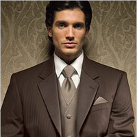 Fashion, Men's Formal Wear, Chocolate, Tuxedo