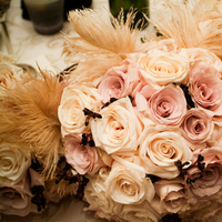 Beauty, Flowers & Decor, ivory, gold, Feathers, Bride Bouquets, Vintage, Bride, Flowers, Vintage Wedding Flowers & Decor, Bouquet, Wedding, Champagne, Antique