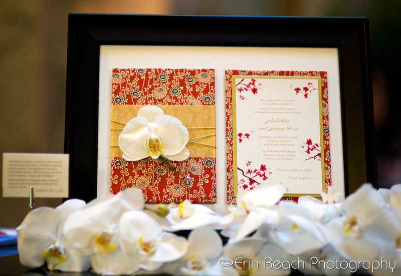 Stationery, invitation, Modern, Modern Wedding Invitations, Invitations, Orchid, Asian, Bamboo, Cherry, Blossoms, Cards de luxe