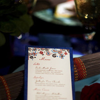 Menu, Spanish, Cards de luxe, Folkart