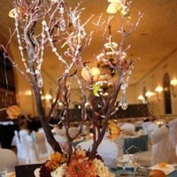 Flowers & Decor, silver, Centerpieces, Flowers, Teal, Something blu events