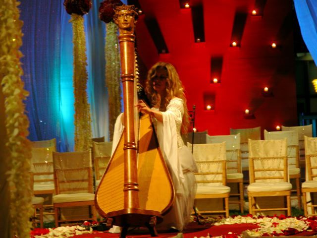 Entertainment, orange, Southern, Harp, Harpist, Wedding, Band, Music, Weddings, California, County, Los, Angeles