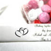 Reception, Flowers & Decor, Favors & Gifts, white, pink, red, favor, Budget events