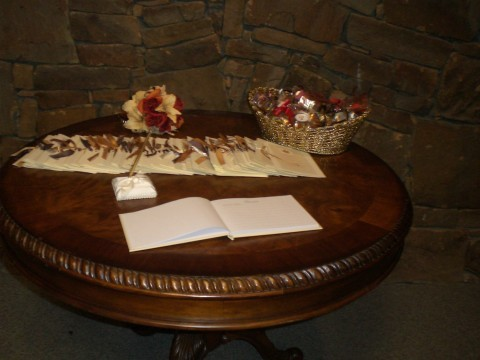 Reception, Flowers & Decor, Fall, Programs, Table, Decorations, Budget events