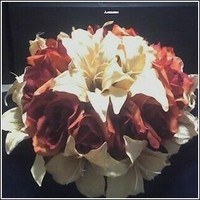 Flowers & Decor, ivory, orange, red, Fall, Flower, Bouquet, Rose, Lily, Budget events, Tiger