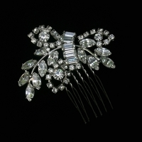 Vintage, Rhinestone, Haircomb, Belcanto bridal designs