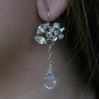 silver, Crystal, Rhinestone, Belcanto bridal designs