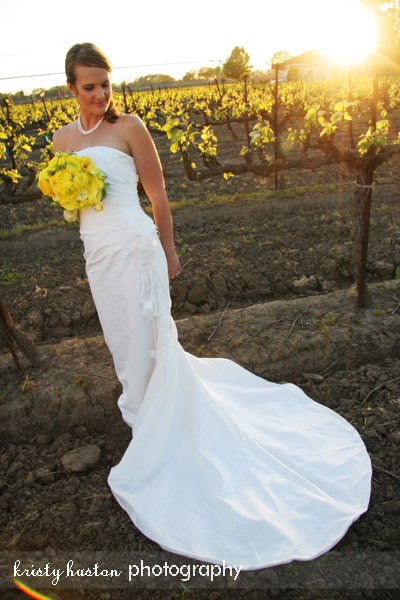 Flowers & Decor, Wedding Dresses, Fashion, yellow, dress, Vineyard, Flowers, Vineyard Wedding Flowers & Decor, Bouquets, Yellow flowers, Kristy huston photography, Bridals, Yellow bouquet, Scribner bend winery, Flower Wedding Dresses