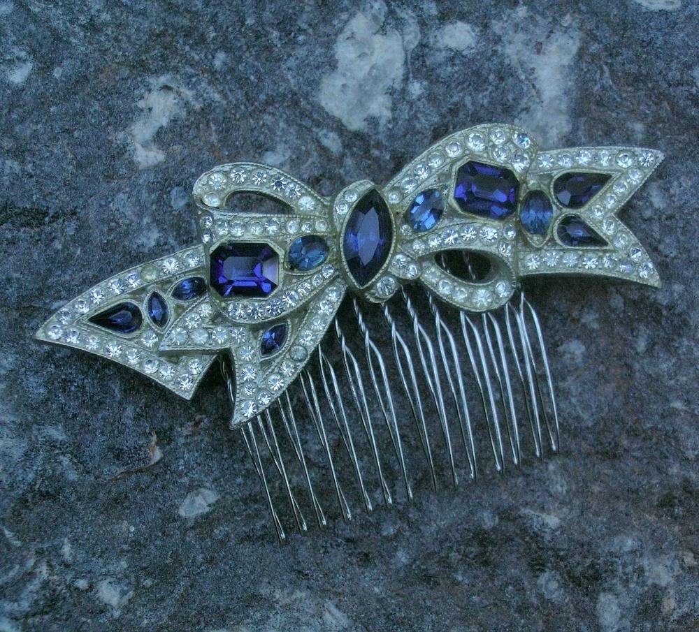Bow, Rhinestone, Deco, Belcanto bridal designs, Shapphire