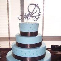 Cakes, cake, Monogrammed Wedding Cakes, Monogram, Topper, Crystals, Bling divas
