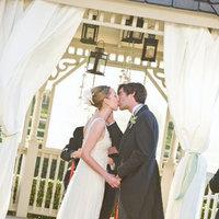 white, green, Wedding, Seaside, Bay area