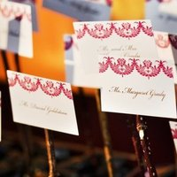 Stationery, Escort Cards, City, Wedding, San, Francisco, Plum, Sophisticated