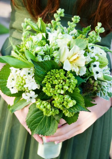 Flowers & Decor, white, green, Bride Bouquets, Flowers, Bouquet, Wedding, Seaside