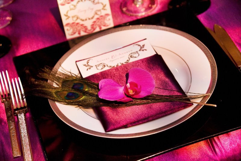 Reception, Flowers & Decor, Decor, City, Wedding, San, Francisco, Plum, Sophisticated