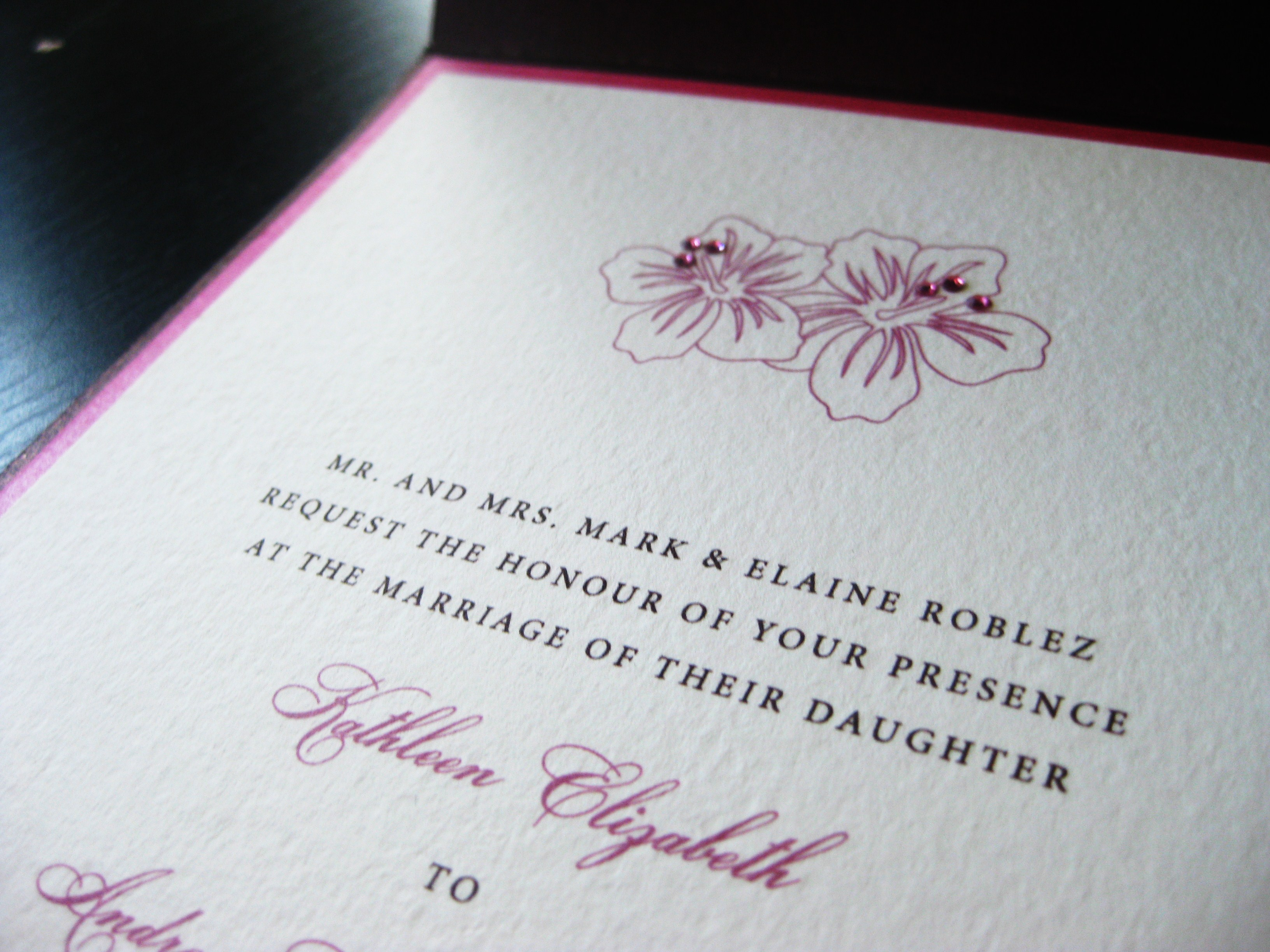 Stationery, pink, purple, invitation, Invitations