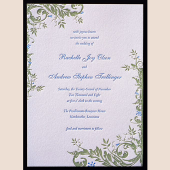 Stationery, Invitations, Wedding, Postcard, Rsvp, The, Letterpress, Save, Date, Invitations by ajalon